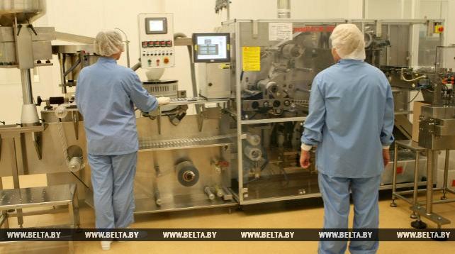 На Борисовском заводе медпрепаратов ведется реконструкция производства