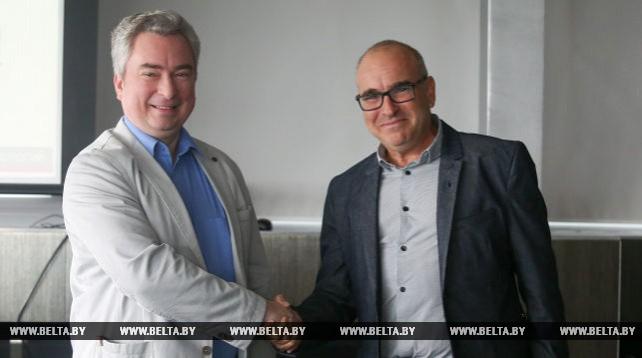 Директор ПВТ Всеволод Янчевский встретился с Эраном Лассером