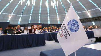 В штаб-квартире НОК Беларуси проходит второй день работы Генассамблеи ЕОК
