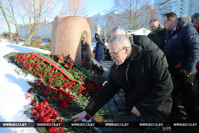На острове Мужества и Скорби почтили память воинов-интернационалистов