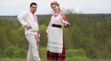 Ситцевую свадьбу отметили супруги Анна и Станислав Сергеевы из Добруша