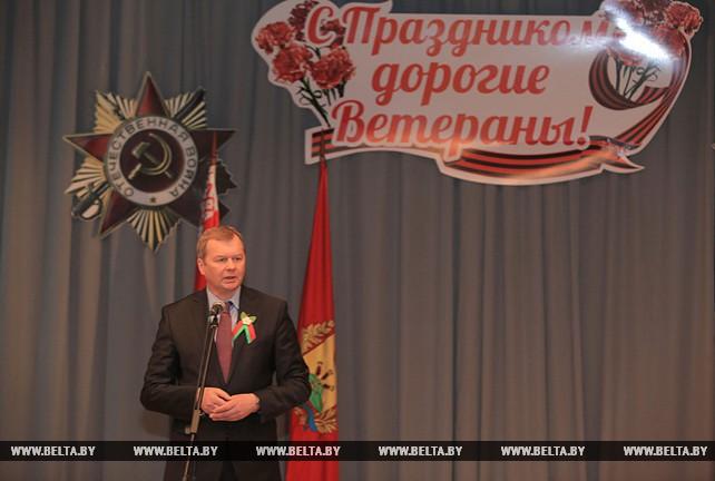 Доманевский посетил Могилевский госпиталь инвалидов ВОВ