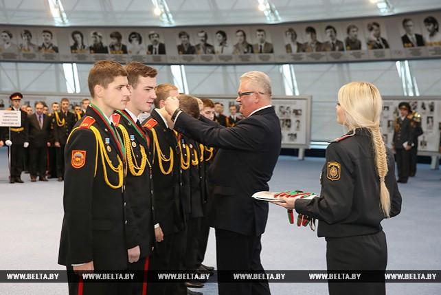 Вручены награды победителям спартакиады учащихся кадетских училищ