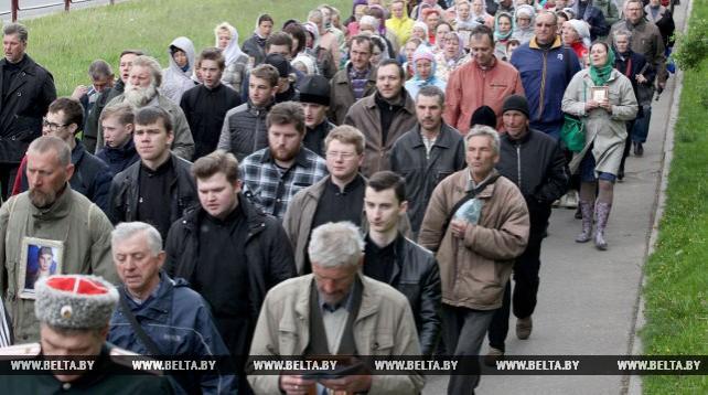 В Витебске прошел крестный ход памяти подвигов новомучеников