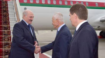Лукашенко прилетел в Москву для участия в заседании ВГС и Форуме регионов Беларуси и России