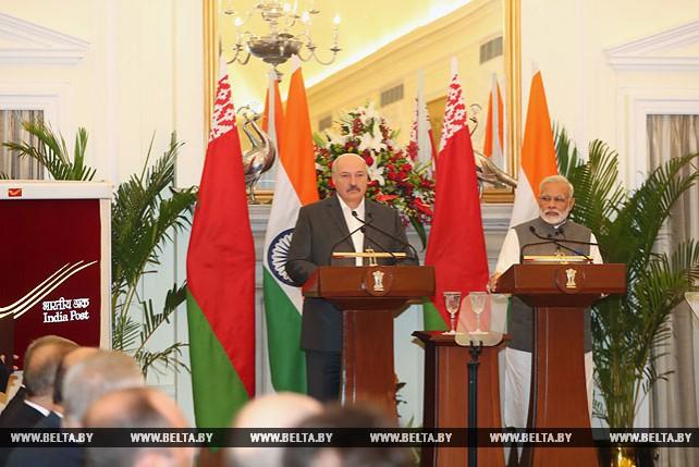 Лукашенко: Беларусь хочет, чтобы Индия стала мощным полюсом в мире