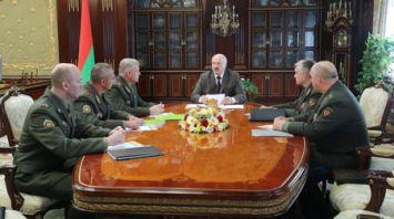 Лукашенко провел совещание с руководством Государственного секретариата Совета безопасности