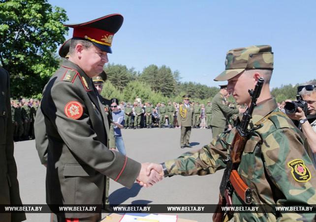 Новое пополнение белорусской армии обладает исключительным потенциалом - Равков