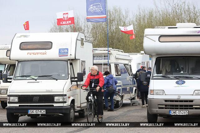 Международный слет караванеров открылся в Минске