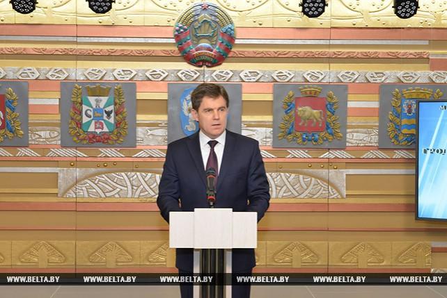 Игорь Петришенко на торжественном мероприятии в Деловом и культурном комплексе посольства
