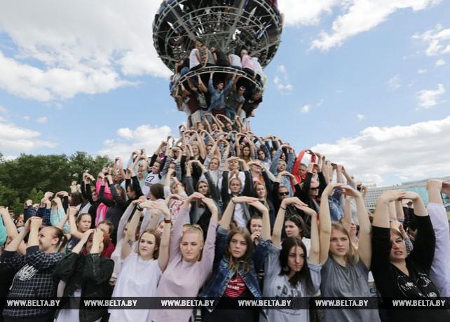 В Минске прошла заключительная репетиция спортивно-молодежного шествия ко Дню Независимости