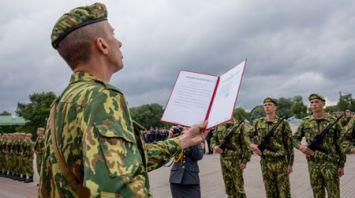 55 военнослужащих войсковой части 5526 приняли военную присягу в Брестской крепости