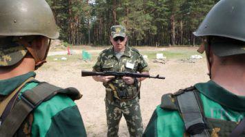 Курс молодого бойца в учебном центре Института пограничной службы под Сморгонью
