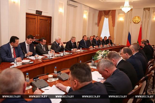 Кобяков встретился с губернатором Ростовской области