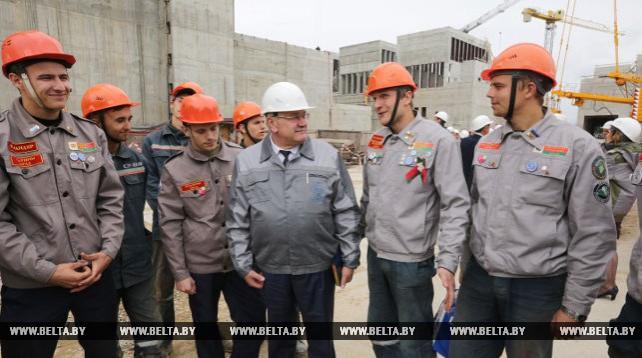 На Всебелорусской молодежной стройке завершается третий трудовой семестр