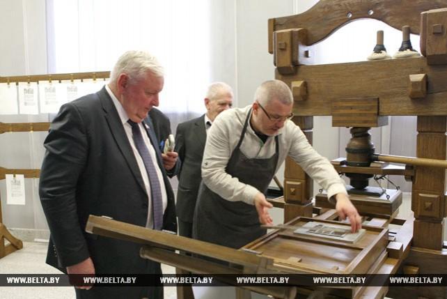 В Совете Республики открылась выставка, посвященная 500-летию белорусского книгопечатания