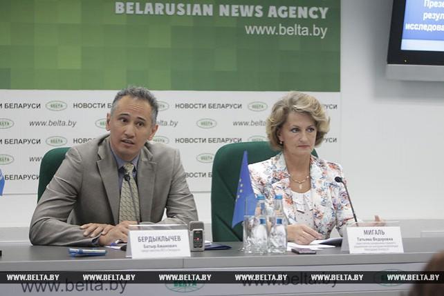 Презентация совместного исследования Минздрава и ВОЗ состоялась в пресс-центре БЕЛТА
