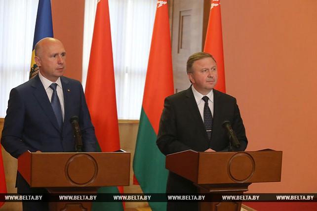 Итоги встречи Кобякова с премьер-министром Молдовы