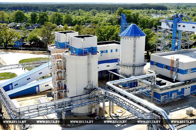 В Добруше завершается строительство завода по выпуску картона