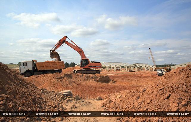 В Славгородском районе строится свинокомплекс на 24 тыс. голов
