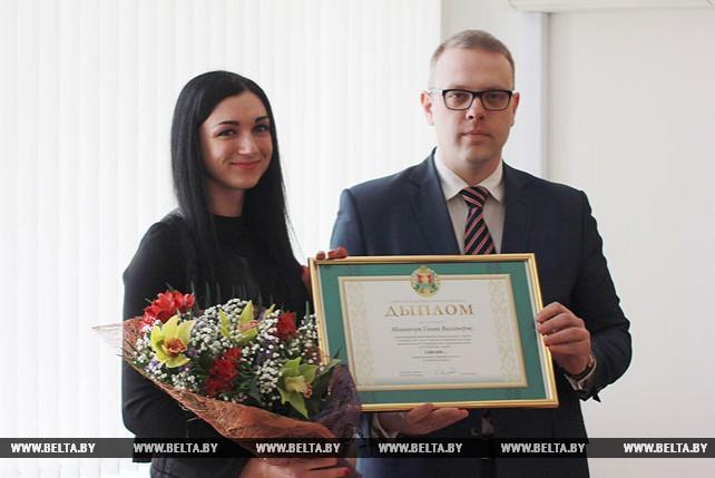 В Минюсте вручили диплом миллионному ИП