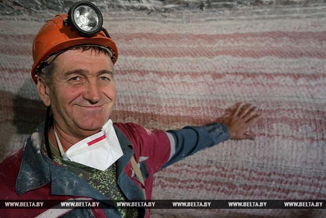 """Юбилейная тонна руды добыта на """"Беларуськалии"""""""