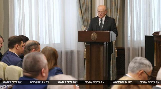 В Беларуси создается вертикаль контрольно-надзорных органов во главе с КГК - Анфимов
