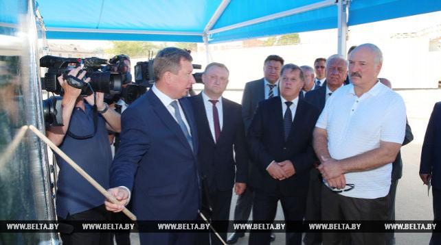 Александр Лукашенко ознакомился с социально-экономическим развитием Бреста