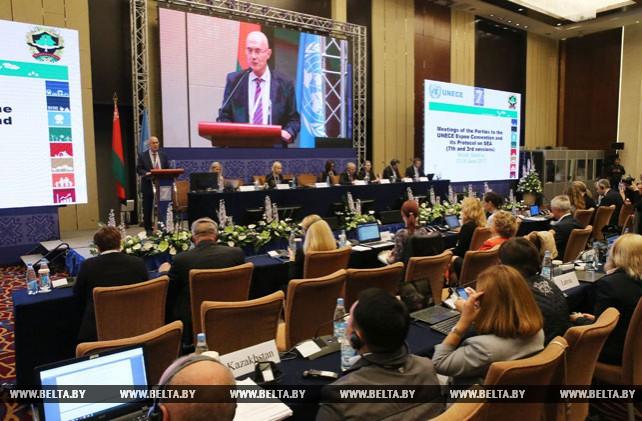 Сессия Совещания сторон Конвенции Эспо открылась в Минске