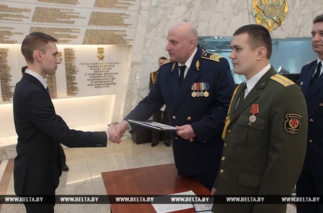 Торжественная церемония выпуска авиационных специалистов