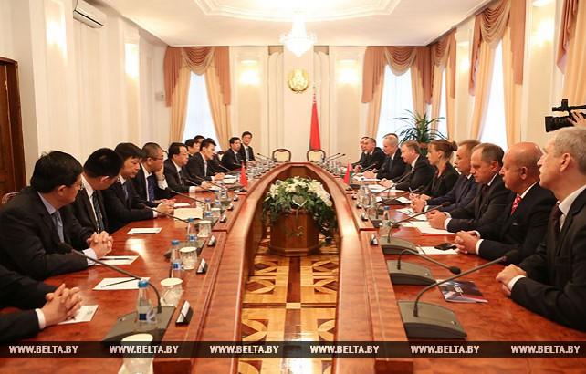 Кобяков встретился с губернатором китайской провинции Шаньдун