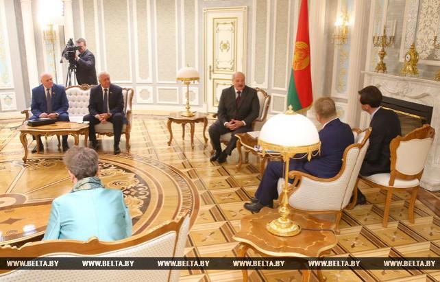 Лукашенко встретился с председателем Комитета регионов Европейского союза Маркку Марккулой