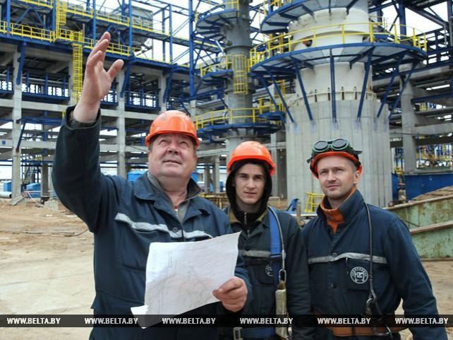 """В ОАО """"Нафтан"""" продолжается строительство комплекса замедленного коксования"""