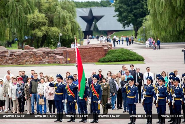 В Брестской крепости прошел торжественный митинг в честь Дня Независимости