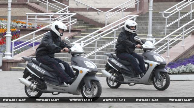 """Мотопатрули усилят наряды по обеспечению безопасности на """"Славянском базаре в Витебске"""""""