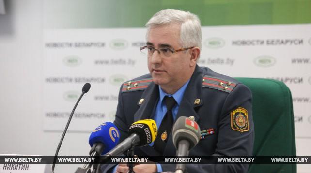 Пресс-конференция к 80-летию белорусской службы по борьбе с экономическими преступлениями прошла в пресс-центре БЕЛТА