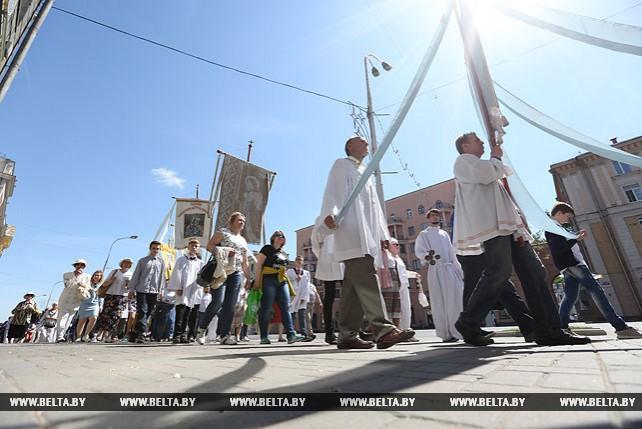 Процессия Божьего тела прошла в Минске