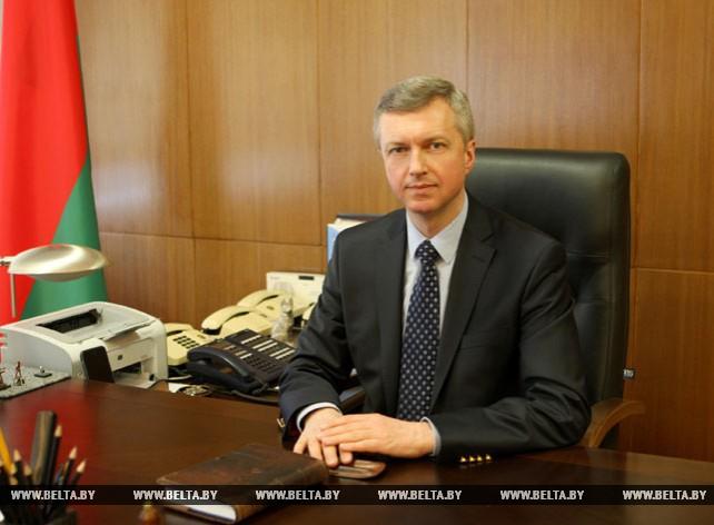 Министр антимонопольного регулирования и торговли В.Колтович