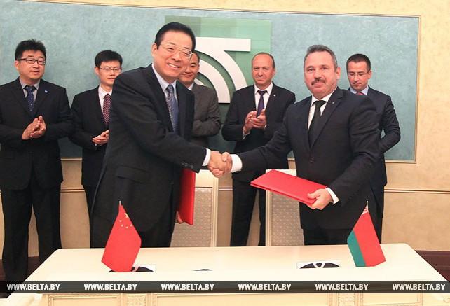 Беларусбанк и китайская компания Sinosure подписали рамочный договор