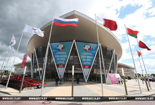 Выставка Expo-Russia Belarus открылась в Минске