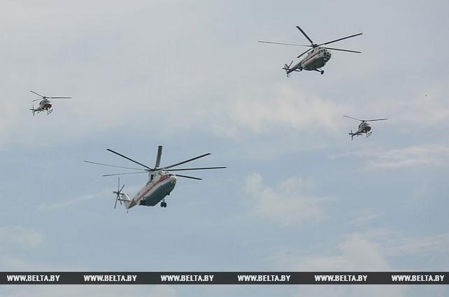Летчики готовятся к параду в честь Дня Независимости