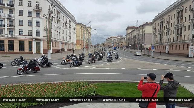 Открытие мотосезона-2017 в Минске
