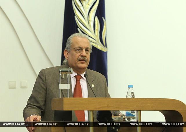 Председатель сената парламента Пакистана Миан Раза Раббани посетил БГУ