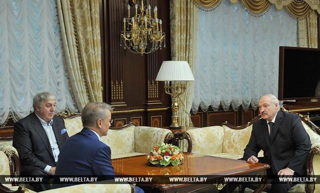 Александр Лукашенко провел встречу с Германом Грефом