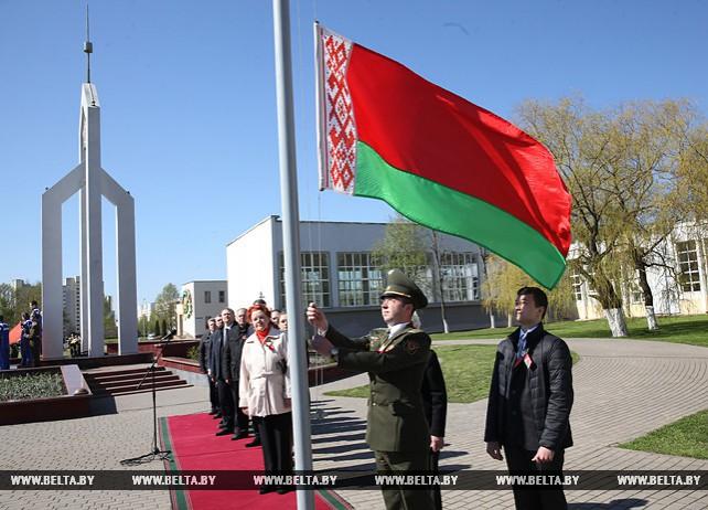 Торжественное мероприятие, посвященное Дню Государственного герба и Государственного флага, прошло в Витебске