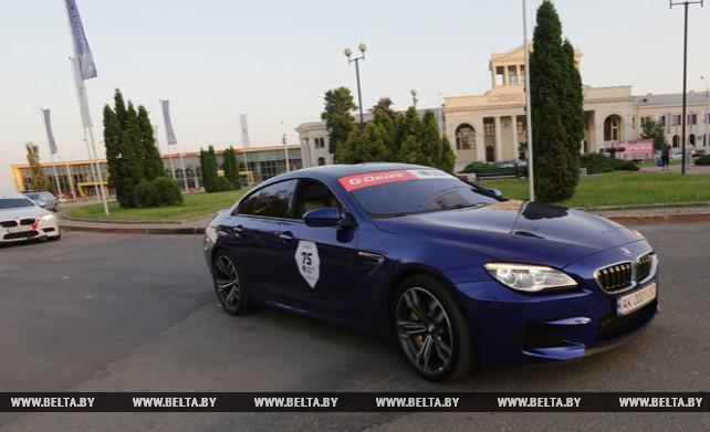 Lamborghini и другие суперкары проехали по улицам Минска