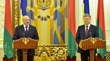 Лукашенко сделал заявление по итогам официальных переговоров в Киеве с Порошенко