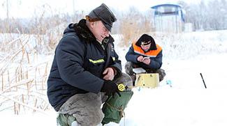 Мероприятия по безопасному поведению на водных объектах зимой