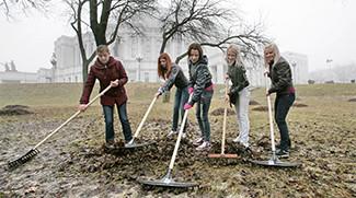 Наведение порядка на земле и благоустройство населенных пунктов Беларуси
