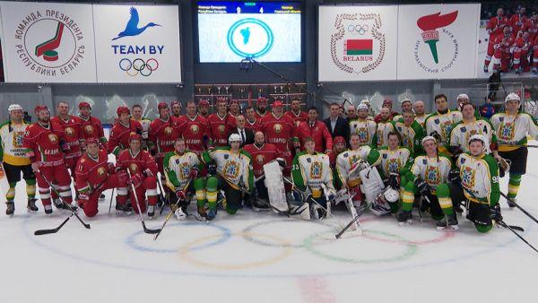 Хоккейная команда Президента победила гомельчан в матче любительского турнира